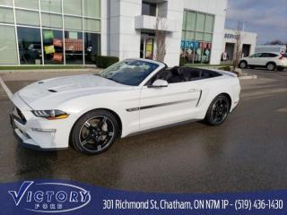 Used 2019 Ford Mustang GT Premium GT California Special 401A for sale in Chatham, ON