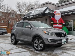 Used 2014 Kia Sportage SX for sale in Mississauga, ON
