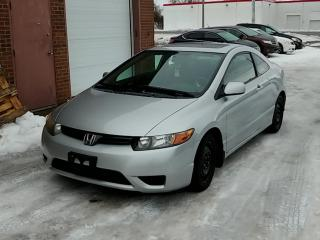 Used 2008 Honda Civic Cpe 2dr Man EX-L for sale in Kitchener, ON