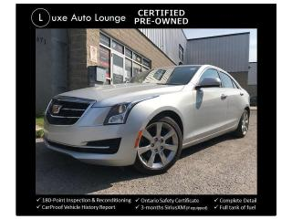 Used 2015 Cadillac ATS AWD, HEATED SEATS, BOSE AUDIO!! for sale in Orleans, ON