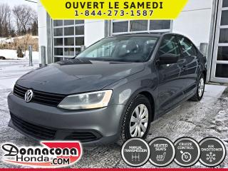 Used 2013 Volkswagen Jetta Trendline *SIEGES CHAUFFANTS* for sale in Donnacona, QC