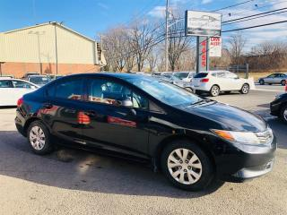 Used 2012 Honda Civic Sdn 1.8L-Air-Mags-Bluetooth-Cruse-Groupe Electriqu for sale in Laval, QC