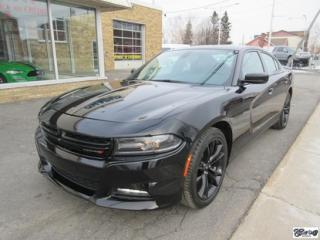 Used 2018 Dodge Charger SXT Plus BLACKTOP for sale in Varennes, QC