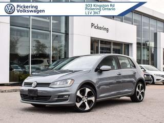 Used 2017 Volkswagen Golf HIGHLINE! LOADED!! LEATHER AND ROOF for sale in Pickering, ON