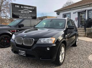 Used 2012 BMW X3 28i AWD LEATHER PANO ROOF LOW KMS for sale in Mississauga, ON