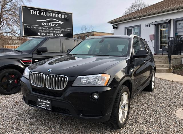 2012 BMW X3 28i AWD LEATHER PANO ROOF LOW KMS