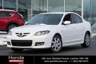 Used 2007 Mazda MAZDA3 GT AUTO 8 PNEUS PROPRE AUTO MAGS 8 PNEUS for sale in Lachine, QC
