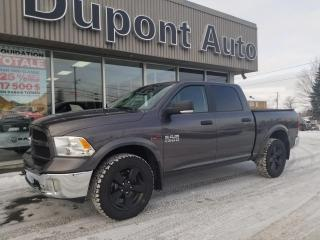 Used 2017 RAM 1500 Cabine multiplaces 4RM, 140,5 po Outdoor for sale in Alma, QC