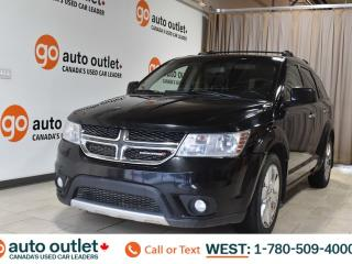 Used 2014 Dodge Journey R/T, 3.6L V6, Awd, Third row 7 passenger seating, Navigation, Heated leather seats, Heated steering wheel, Backup camera, Sunroof, Bluetooth for sale in Edmonton, AB
