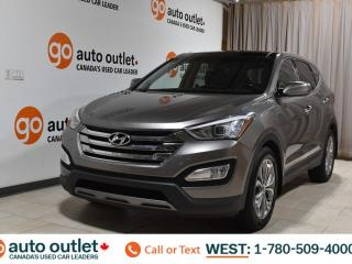 Used 2013 Hyundai Santa Fe Limited Awd Navigation Heated/Cooled seats Backup camera Pano roof Bluetooth for sale in Edmonton, AB