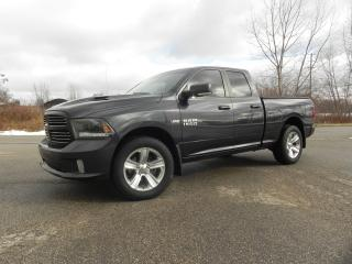 Used 2015 RAM 1500 SPORT QUAD CAB 4X4 with LEATHER for sale in Brantford, ON