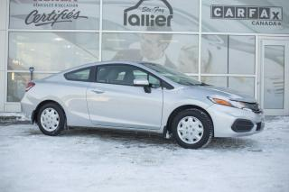 Used 2013 Honda Civic ***HONDA CIVIC COUPE LX 2014*** for sale in Québec, QC