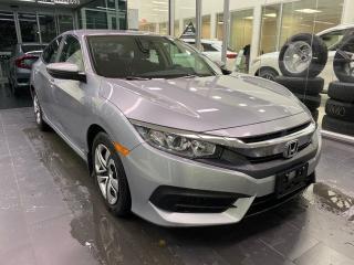 Used 2018 Honda Civic Sedan LX, CRUISE CONTROL, HEATED SEATS, BACK-UP CAMERA for sale in Edmonton, AB