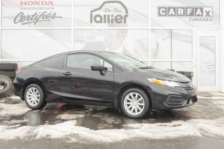 Used 2013 Honda Civic ** HONDA CIVIC COUPÉ LX 2014 ** for sale in Québec, QC