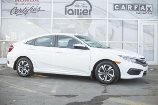 Used 2016 Honda Civic LX ***GARANTIE 10 ANS/200 000 KM*** for sale in Québec, QC