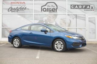 Used 2014 Honda Civic ***HONDA CIVIC COUPE LX 2015*** for sale in Québec, QC