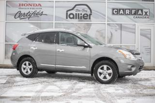 Used 2013 Nissan Rogue S AWD ***BAS KILOMETRAGE*** for sale in Québec, QC