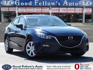 Used 2016 Mazda MAZDA3 GX MODEL, SKYACTIV, REARVIEW CAMERA, 4CYL 2.0L for sale in Toronto, ON