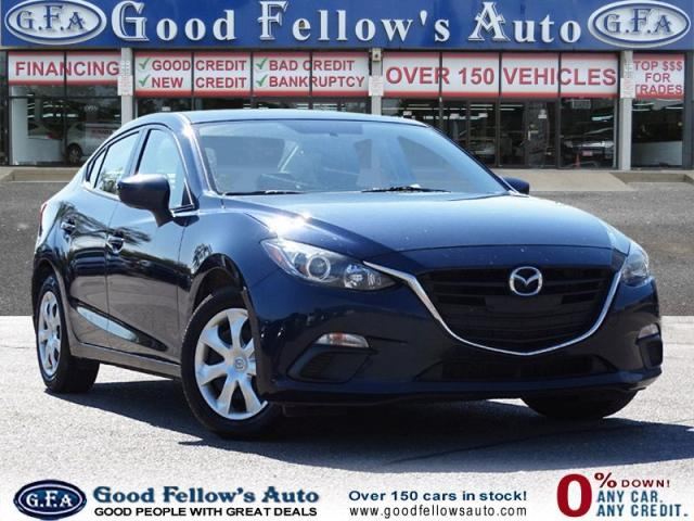 2016 Mazda MAZDA3 GX MODEL, SKYACTIV, REARVIEW CAMERA, 4CYL 2.0L