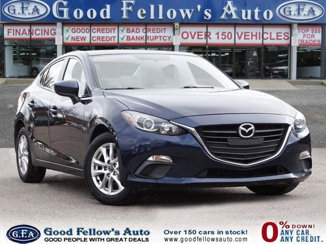2016 Mazda MAZDA3 GS MODEL, SKYACTIV, HEATED FRONT SEATS, 4CYL 2.0L