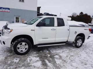 Used 2011 Toyota Tundra 4WD Double Cab 5.7L SR5 for sale in Lac-Etchemin, QC