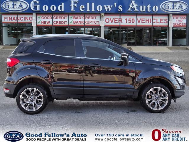 2018 Ford EcoSport TITANIUM, 4CYL 2L, 4WD, LEATHER SEATS, NAVIGATION