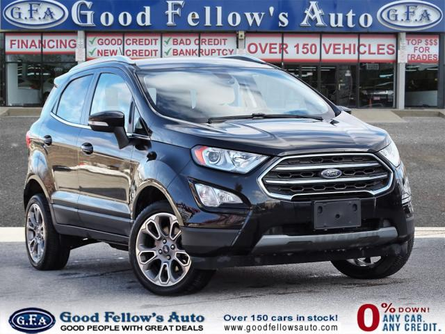 2018 Ford EcoSport TITANIUM, PANORAMIC ROOF, NAVIGATION, HEATED SEATS