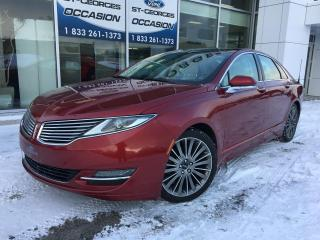 Used 2014 Lincoln MKZ AWD V6 CUIR TOIT GPS MAGS 19 SIEGES CHAU for sale in St-Georges, QC