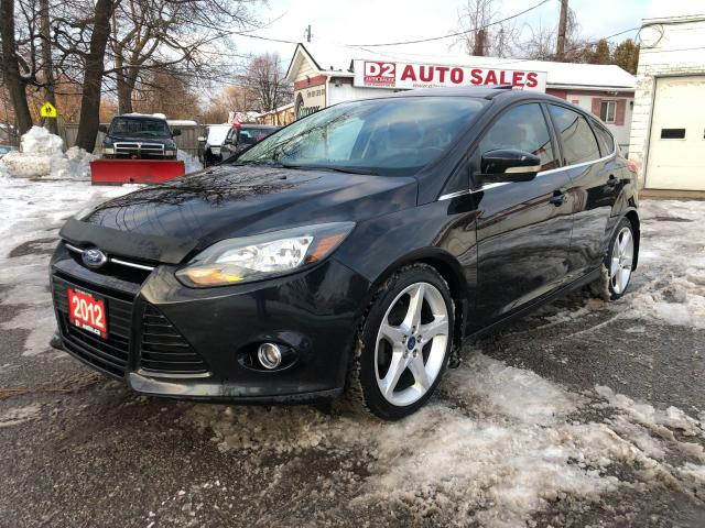 2012 Ford Focus Titanium/Accident Free/Automatic/Leather/Roof/BT