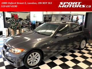 Used 2006 BMW 3 Series 325i+Heated Leather+Roof+Xenons for sale in London, ON