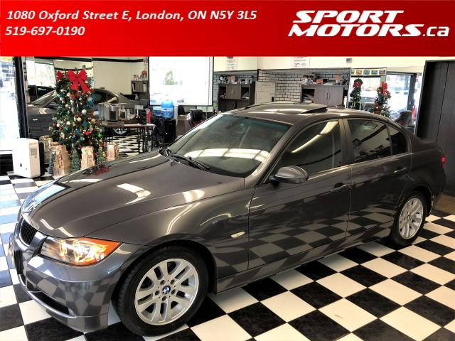 2006 BMW 3 Series 325i+Heated Leather+Roof+Xenons