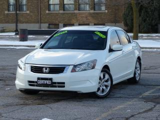 Used 2010 Honda Accord LEATHER,EX-L,HEATD-PWR SEAT,SUNROOF,FULLY LOADED for sale in Mississauga, ON