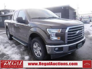Used 2017 Ford F-150 XLT 4D SUPERCAB 4WD for sale in Calgary, AB