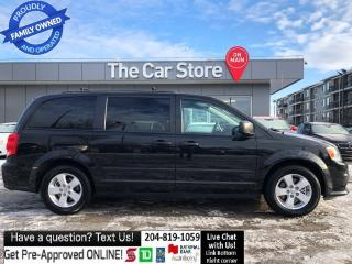 Used 2015 Dodge Grand Caravan STOW-N-GO Bluetooth No Accidents! 1owner 7 seater for sale in Winnipeg, MB