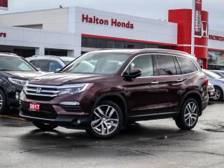 Used 2017 Honda Pilot TOURING|SERVICE HISTORY ON FILE|ACCIDENT FREE for sale in Burlington, ON