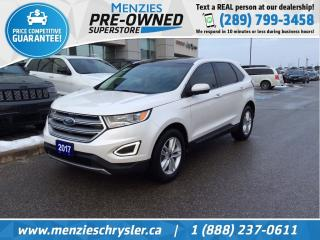 Used 2017 Ford Edge SEL for sale in Whitby, ON