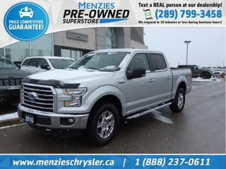 Used 2016 Ford F-150 XTR 4x4, Bluetooth, Cam, Hitch, One Owner for sale in Whitby, ON