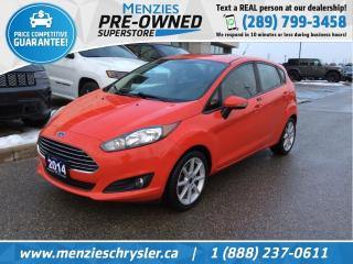 Used 2014 Ford Fiesta SE, Bluetooth, Sunroof, Alloys, Clean Carfax for sale in Whitby, ON