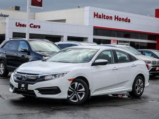 Used 2017 Honda Civic LX|SERVICE HISTORY ON FILE|ACCIDENT FREE for sale in Burlington, ON