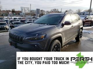 New 2020 Jeep Cherokee Trailhawk Elite | Leather | Trailer Tow | Push But for sale in Mitchell, ON