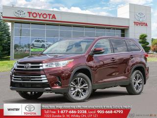New 2019 Toyota Highlander LE AWD LE for sale in Whitby, ON