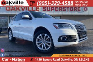 Used 2017 Audi Q5 PROGRESSIV | NAVI | PANO | B/U CAM | LOW KM for sale in Oakville, ON