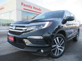 Used 2017 Honda Pilot 4WD 4dr Touring | LEATHER | RARE COLOUR! | LOW KMS for sale in Brampton, ON