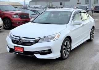 Used 2017 Honda Accord Hybrid Touring for sale in Woodbridge, ON
