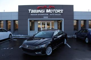 Used 2016 Volkswagen Passat TSI NO ACCIDENTS I LEATHER I SUNROOF I BLIND SPOT I REAR CAM for sale in Mississauga, ON