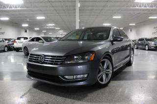 Used 2012 Volkswagen Passat TDI HIGHLINE NO ACCIDENTS I NAVIGATION I SPORT I LEATHER for sale in Mississauga, ON