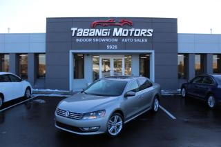 Used 2013 Volkswagen Passat TDI HIGHLINE I NO ACCIDENTS I NAVIGATION I REAR CAM I SPORT for sale in Mississauga, ON