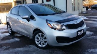 Used 2015 Kia Rio LX - BLUETOOTH! HEATED SEATS! ACCIDENT FREE! for sale in Kitchener, ON