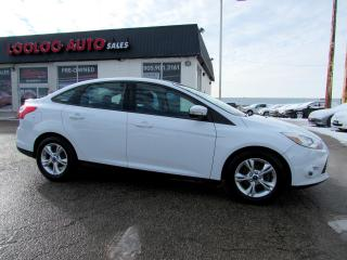 Used 2013 Ford Focus SE Sedan Auto Bluetooth Certified 2YR Warranty for sale in Milton, ON
