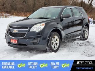 Used 2013 Chevrolet Equinox LS ** Clean CarFax, All Wheel Drive, Fuel Efficien for sale in Bowmanville, ON